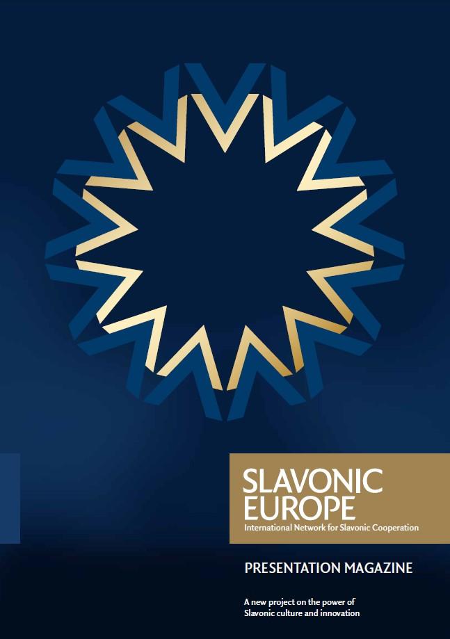 SLAVONIC-EUROPE Presentation-Magazine Titel