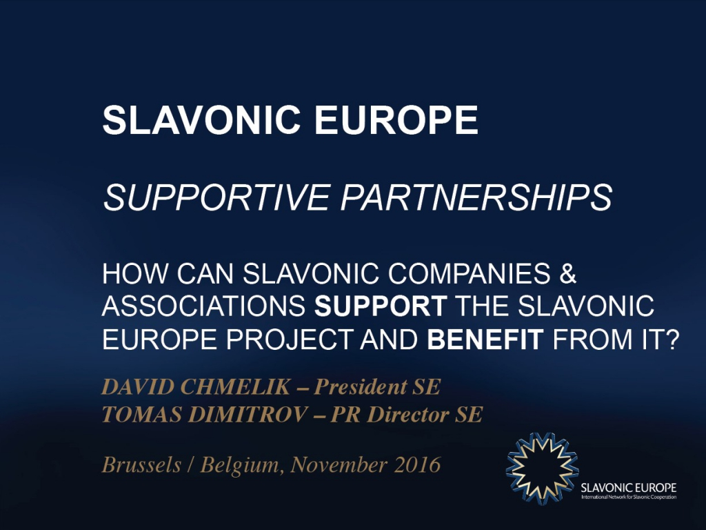 SLAVONIC EUROPE - Supportive Partnerships