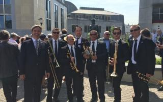 Mr David Chmelik and the Slavonic Europe Brass Ensemble