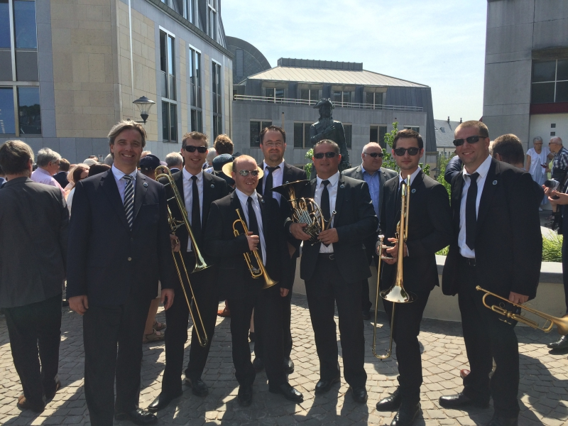 Mr David Chmelik and the Slavonic Europe Brass Ensemble