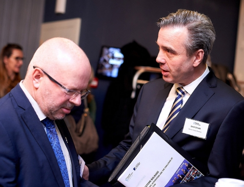 Friends of Europe's 2018 Balkan European Policy Summit in Brussels – SLAVONIC EUROPE represented by its President, David CHMELIK