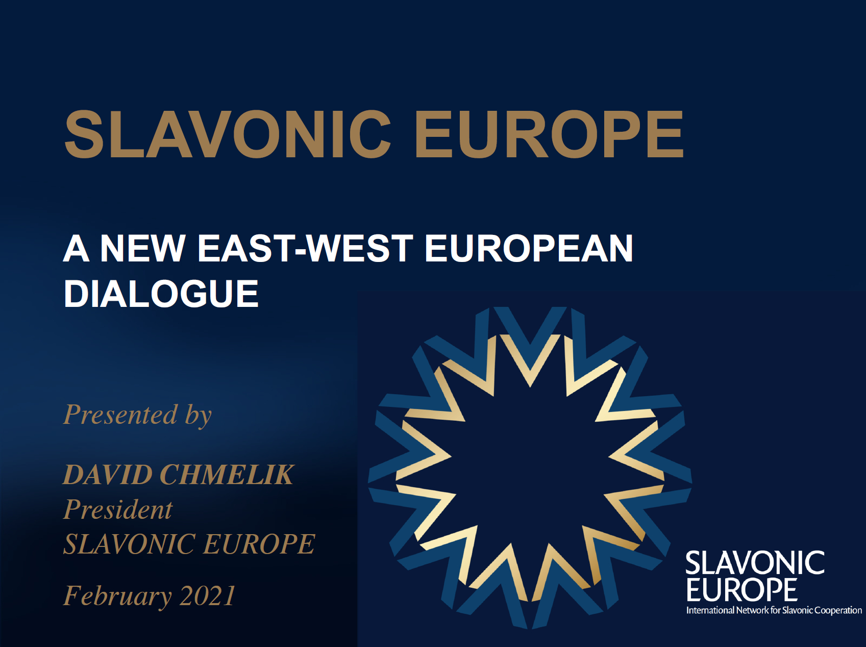SLAVONIC EUROPE - Movement Presentation - New - March 2021